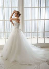 wedding bridal dress ball gown lace applique crystal beaded tulle