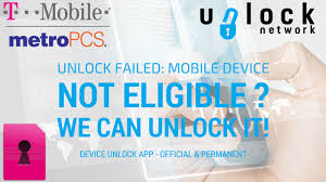 ficial & Permanent unlocking for MetroPCS and TMobile USA device