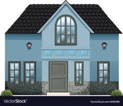100 What Is Detached House A Blue Single Detached House