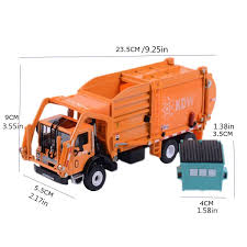 100 Diecast Garbage Trucks Truck 143 Scale Educational Toys Planet