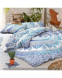 Ombre Mandala Duvet Cover Indian Mandala Reversible Cotton Duvet