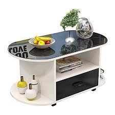 table ausgeglichenes glas aufsatz kleines wohnzimmer couchtisch personalized oval mit schubladen entwickelte speicherabteil beistelltisch