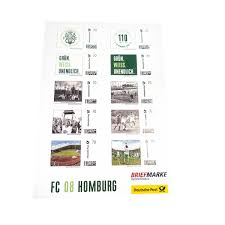 110 Jahre BriefmarkenSet FC 08 Homburg Fanshop