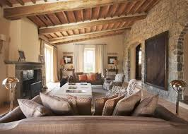 This Tuscan Style Home Interior Design and Decorating Elements