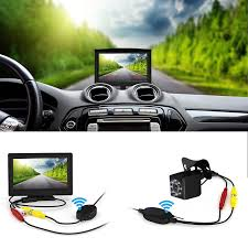 100 Backup Camera For Truck Wireless And Monitor Kit 5 Inch Wireless