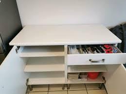 ikea küche schrank buffet sideboard unterschrank kommode weiß