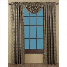 checked curtains drapes valances ebay