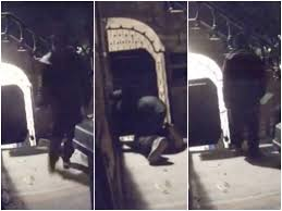 watch package thief scarily stalks bed stuy home bed stuy ny