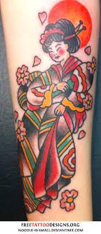 Sailor Jerry Geisha Tattoo