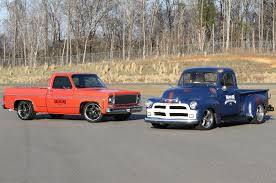 Valvoline And Nascar Restore Classic Chevrolet Pickups Photo & Image ...