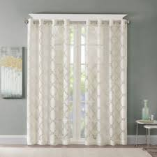 Sheer Curtain Panels With Grommets by Madison Park Laya Grommet Top Grommet Top Sheer Curtain Panel
