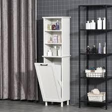 homcom badezimmerschrank badschrank highboard küchenschrank
