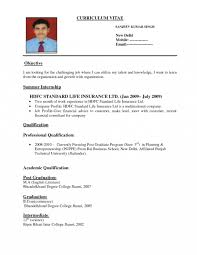 Standard Resume Format Templates Template Surprising For Canada International Doc Large