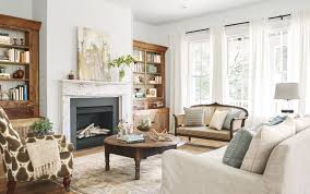 Rustic Living Room Decor Into The Glass