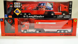 100 Rc Truck And Trailer For Sale New Ray 13 2 Iveco Ferrari Man Long Hauler