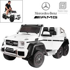 100 Mercedes 6 Wheel Truck Benz AMG G3 X 12V Eectric Ride On Car Motors Remote