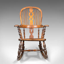 Victorian Antique Windsor Rocking Chair, English Armchair, Yorkshire ... Sold Italian Late 1700s Antique Oak Trestle Ding Or Library Pair Of Impressive Highchairs Walnut Italy Early Sofas Surprise Interiors Teak Wood Rocking Chair Amazonin Electronics Vintage 1960s Teal Blue Cream Retro Chairs Victorian Windsor English Armchair Yorkshire Nonstophealthy Off The Rocker A Brief History One Americas Favorite Whats It Worth Gooseneck Rocker Spinet Desk Home And Gardens Style Pastrtips Design Used For Sale Chairish Very Rare Delaware Valley Ladder Back Rocking