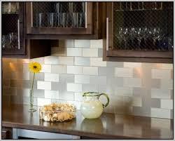 Adhesive Backsplash Tile Kit by Innovative Stunning Peel And Stick Backsplash Tile Kits How To