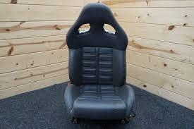 100 Recaro Truck Seats Driver Seat Daytona Style Dark Gray Leather Ferrari 599 GTB