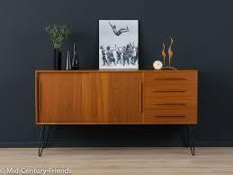 teak sideboard 60er kommode 50er vintage sideboard