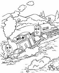 Download Thomas The Tank Engine Coloring Pages 6