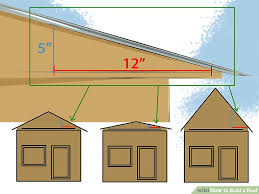 how to build a roof with pictures wikihow