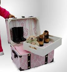 Doll Steamer Trunk for American Girl¨ Doll Accessories