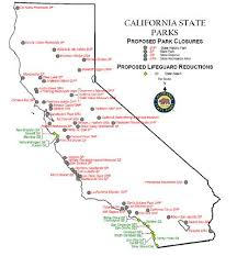 Aa Simply Simple Map Of State Parks In California
