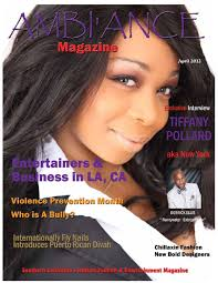 Pumkin Flavor Flav Name by April Magazine 2012 By Ambi U0027ance Magazine Atl L A Issuu