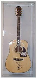 Acrylic Guitar Show Case