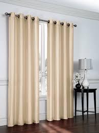 Eclipse Blackout Curtains 95 Inch by Amazon Com Parker Faux Silk Grommet Curtains By Victoria Classics