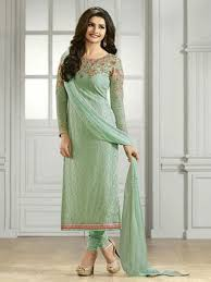 olive green color indian ethnic designer straight salwar kameez
