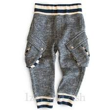 Miki Miette Boys Tweed Vedder Cargo Sweatpants