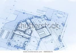 Blueprints House Architecture Blueprints House Plans Stock Photo Edit Now