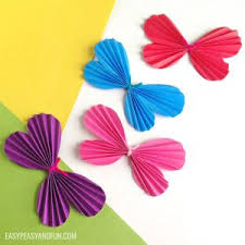 How To Make A Paper Butterfly Template Included