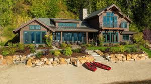 100 Mountain Architects Lake House In Sandpoint Idaho Lake House
