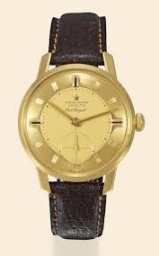 la cote des montres enchères yellow gold port royal zenith