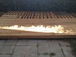 Ideas About Decks On Pinterest Wooden Pallet Deck 16 Wood Backyard 4 Steps With Pictures