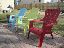 Colorful Plastic Adirondack Chairs - DHLViews