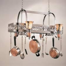 kitchen island pot rack lighting 28 images racks hanging