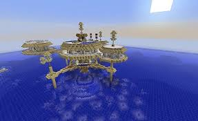 104 The Water Discus Underwater Hotel V2 Minecraft Map