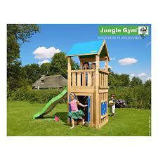 jeux de cuisine jeux de la jungle aire de jeux en bois avec toboggan maisonnette et bac à