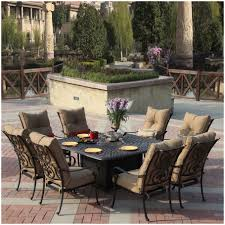 7 Piece Dining Room Set Walmart by Furniture Patio Dining Chairs On Sale Biscayne Rust Bronze 7