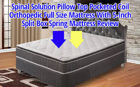 Solution Pillow Top Pocketed Coil Orthopedic Mattress Review