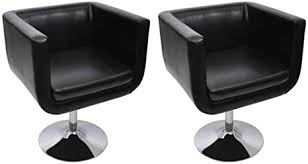 festnight 2er set sessel drehstuhl barsessel ergonomisch