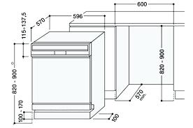 hauteur plan de travail cuisine ikea taille impressionnant et meuble