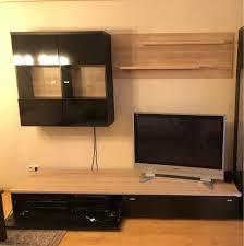 tv wand fernsehwand wohnzimmer schrank ablage regal tv low board