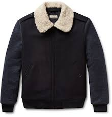 J.Crew - Wallace & Barnes Faux Shearling-Trimmed Wool Bomber Jacket Wallace Barnes Corblock Bomber Jacket Men Coats Jackets Jcrew Cottontwill Bomber Jacket In Black For Wide Eyes Tight Wallets Mens Fall And Winter Casual Jackets Lined Gransden Green Lyst Flight Sherpacollar Wool Shelingcollar Spring Menswear Button Downs Feel The Power Of Womens Leather Accsories 23 Best Images On Pinterest Bombers