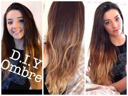 DIY Balayage at Home Ombre Tutorial & Demo