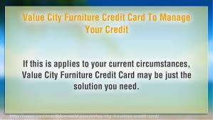 Value City Furniture Credit Card For The Interior Look